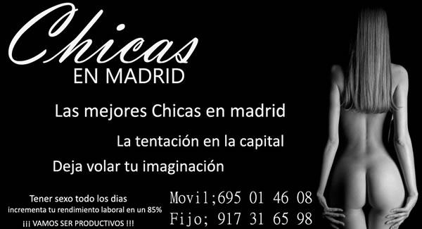 Agencia Chicas en Madrid